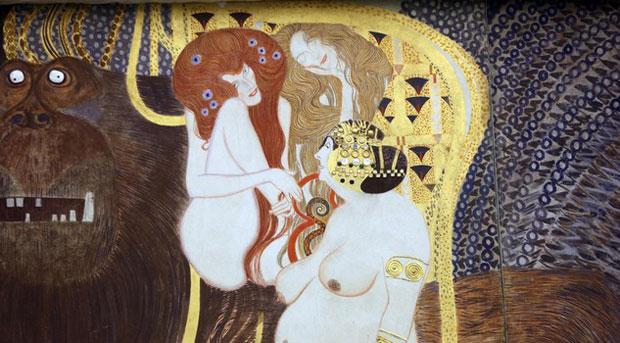 Klimt a Palazzo Reale, sinfonia di colori
