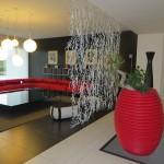 Le Terrazze modern design in the fashion hotel