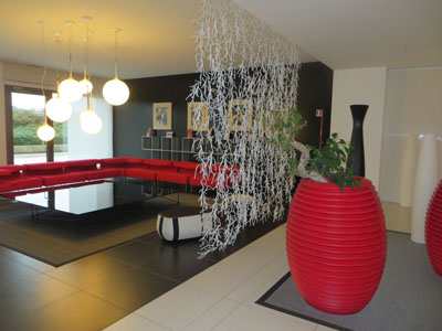 Le Terrazze modern design in the fashion hotel - Bluarte