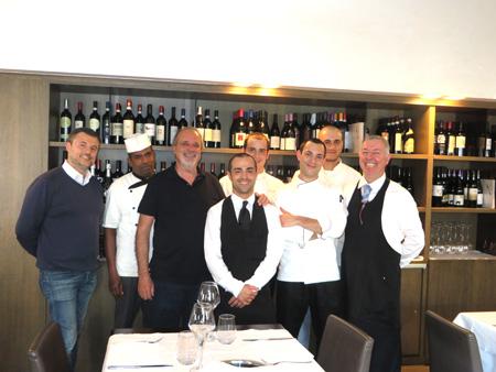 Giorgio bernasconi nel suo ristorante qualit e gusto for Ristorante australiano milano