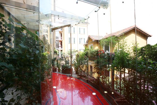 Hotel-Sanpi-Tunnel-garden