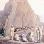 Henriette, e il Monte Bianco