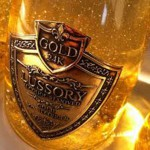Dubai. Vino con oro 24 carati