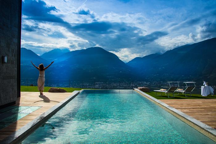 Chalet-Eichnstein-Waldner-piscina