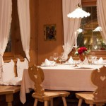A cena all'Hotel Oberwirt con Donà e Waldner