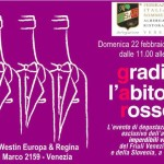 The wine passion in Laguna si accende di rosso