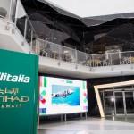Alitalia ed Etihad Airways. Style e luxury tra i cieli