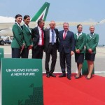 Alitalia New livery. Pulsione italiana in the world