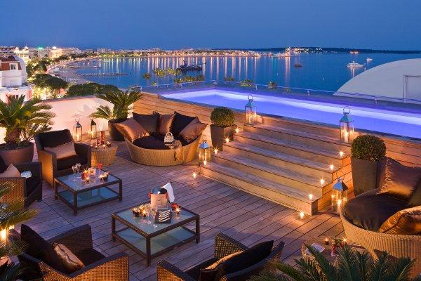 Suite MAJESTIC - Terrasse de nuit