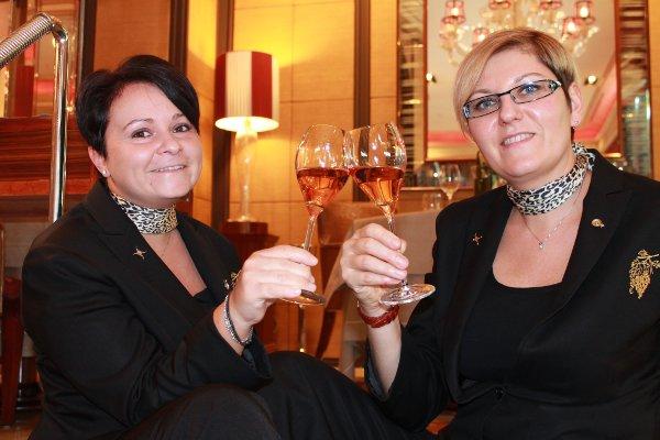 Mara-Vicelli-Sommelier-and-Alessandra Veronesi-Wine-Director-Acanto-Restaurant