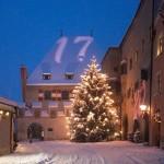 Crystal Light with Christmas Swarowski