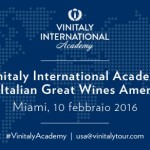 Vinitaly International. San Francisco, New York e Miami