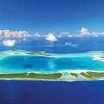 Polinesia. Travel in the eco-luxury resort
