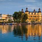 Falkensteiner Schlosshotel riflessi di lago