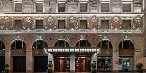 Times Square sensation. Paramount Hotel New York