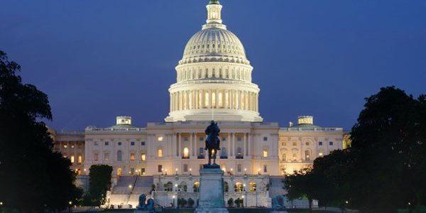 Washington DC. Freedom concept, modern mood