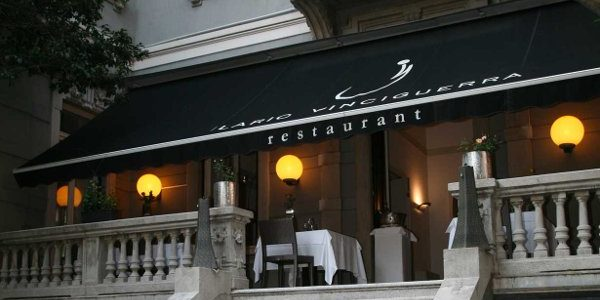 Ilario Vinciguerra Restaurant. Evolution gourmet touch