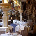 Le Chapon Fin Bordeaux, Dining experience con roccia scenografica