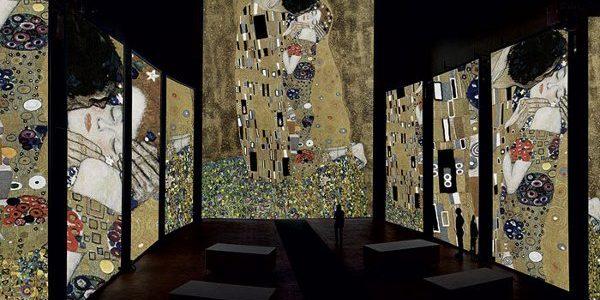 Klimt. Vertigine Tech Exhibition Sensual, Mudec Milano