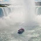 Boat ride to Niagara Falls