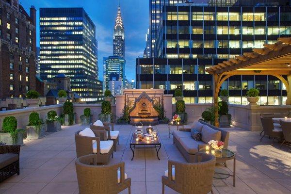 Intercontinental New York Barclay Storico Moderno Iconico
