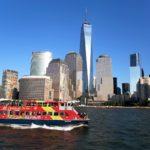 CitySightseeing New York Ferry Tour. Scatto da postcard
