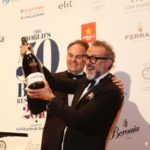 Bottura brinda con Ferrari il podio World's 50 Best Restaurants