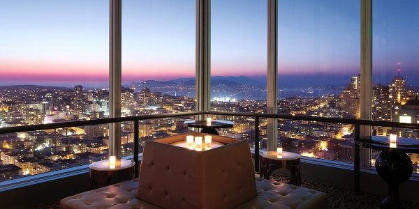 Cityscape Lounge.Top emotions on the San Francisco skyline