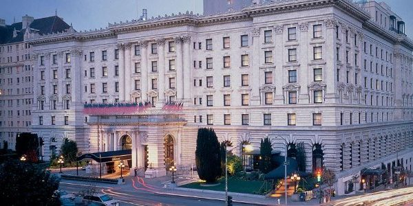 Fairmont San Francisco. The spirit of the time, the opulent charm