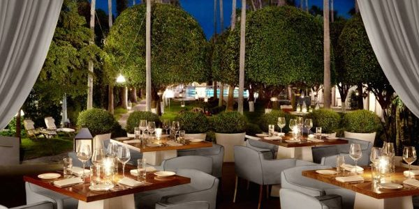 LEYNIA Restaurant at Delano South Beach. Be easy is glam