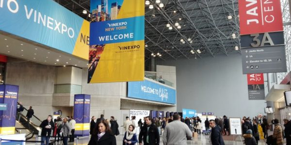 Vinexpo New York 2019 meet the wine world al Jacob K.Center