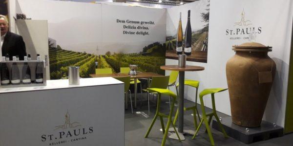Kellerei St. Pauls a Vinitaly Praeclarus e Sanctissimus. Iconic wines