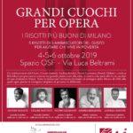 Grandi Cuochi per Opera. I risotti più buoni di Milano