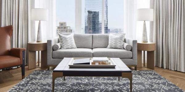 Conrad New York Midtown, stile, lusso, glamour. Perfetta armonia