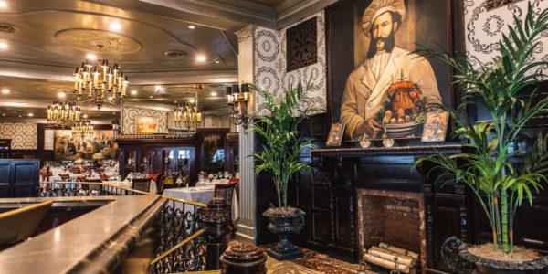 Delmonico's Restaurant the taste of live, the art of taste