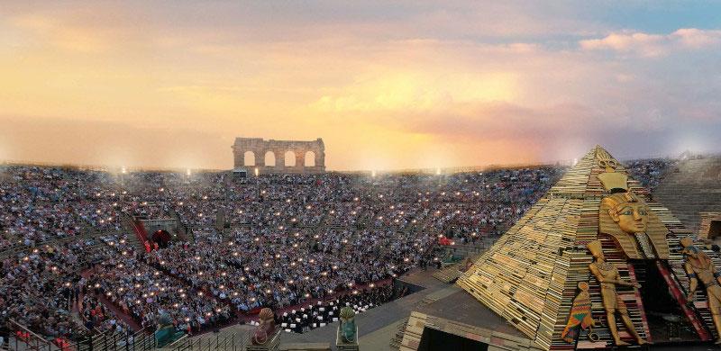 Maestro Riccardo Muti All'Arena