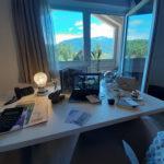 Smart working con vista al Seehof Nature Retreat