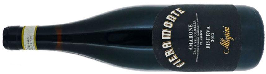 Fieramonte 2012 miglior vino rosso