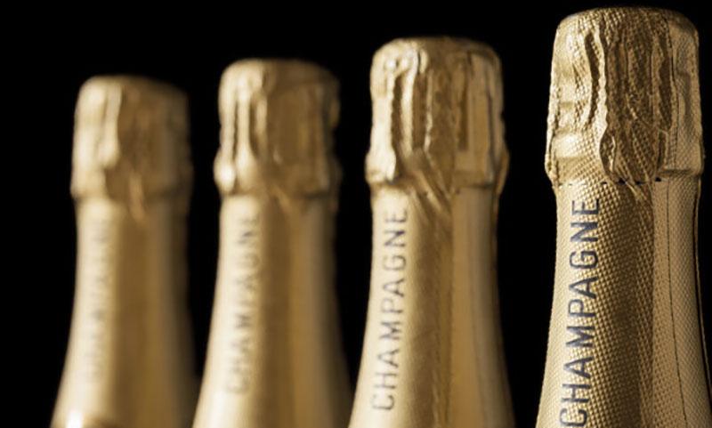 Diminuiscono le spedizioni di Champagne