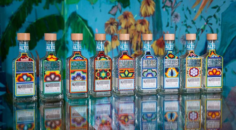 Altos Tequila progetto Huichol