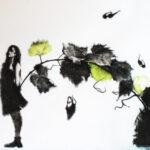 Arte contemporanea in continuum con l'Amarone Cesari