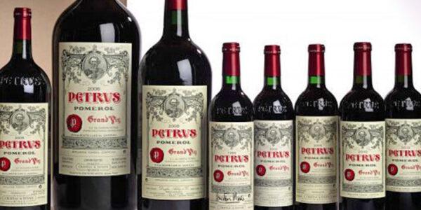 Wine Pétrus da 1 milione di dollari