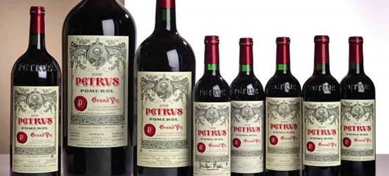 Wine Petrus da 1 milione di dollari
