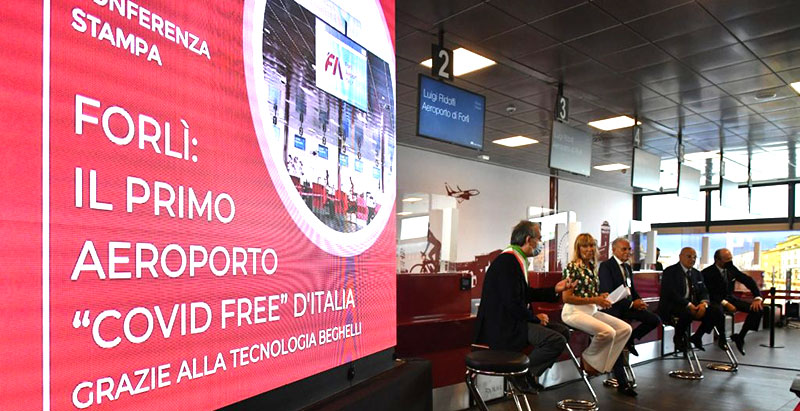 Forlì aeroporto Covid Free