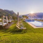 Villa Sostaga, l'eleganza di un sogno con vista sul Lago di Garda