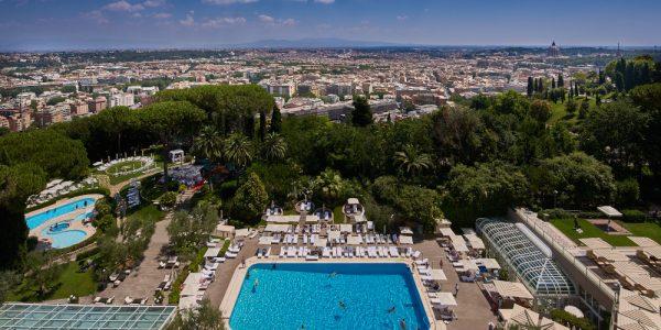 Rome Cavalieri A Waldorf Astoria Hotel, il lusso sulla pelle dell'Arte