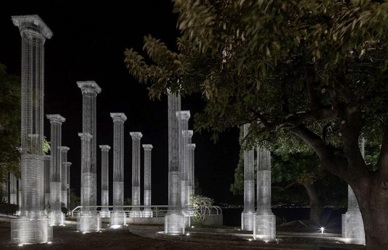 Opera di Tresoldi, sul lungomare di Reggio Calabria